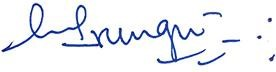 signature of Dr. Jane Irungu