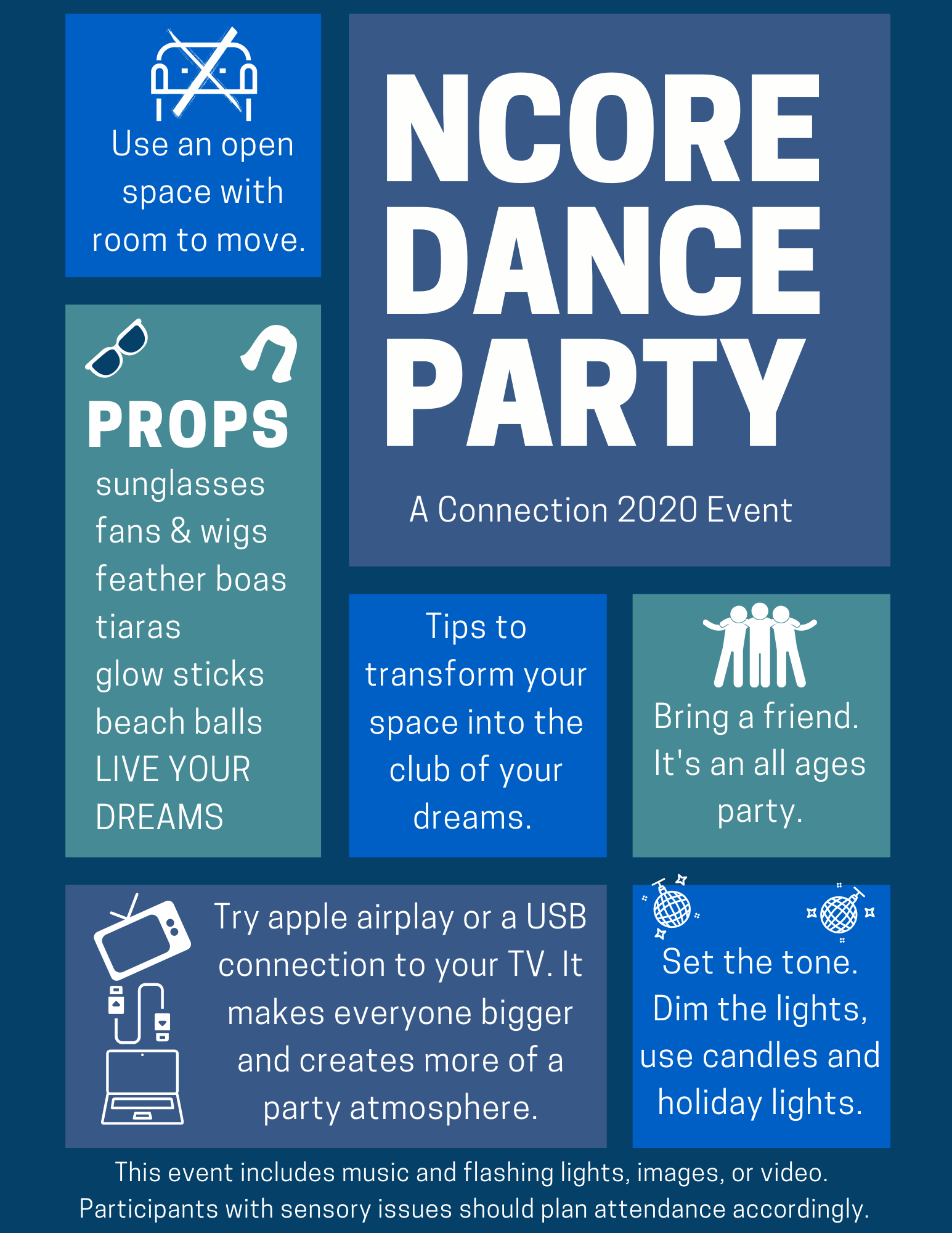 dance party tips