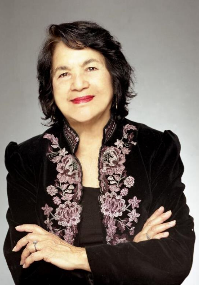 presenter Dolores Huerta photograph
